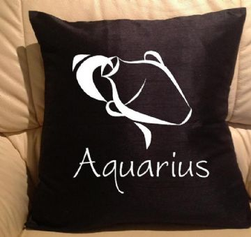 Horoscope - star sign Aquarius pillow, sofa cushions